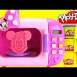 Minnie Mouse Magical Microwave LEARN Colors with Play Doh Surprises