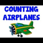 Airplanes Numbers | Learn numbers from 1 to 10