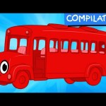 My Red Bus Short Adventures – My Magic Pet Morphle Video Compilation For Kids