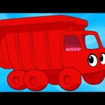 My Red Garbage Truck's Weekend Day – My Magic Pet Morphle Truck and Vehicle videos