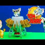 TOM AND JERRY Cartoon Network Tomand Jerry Tom Bomb Game a Tom and Jerry Video Kid Toy Review