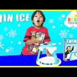 THIN ICE Game Family Fun Game Night for Kids Egg Surprise Toys TMMT Ninja Turtles Ryan ToysReview