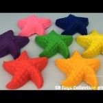 Fun Creative with Play Doh Starfish and Donald Duck Mold