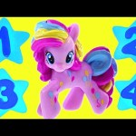 Counting Numbers with My Little Pony – Learn To Count Toy Ponies in English