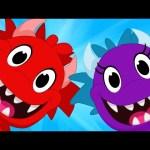 My Pet Monster Makes a Friend – Monster, Dinosaur, Shark, animations for kids
