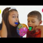 Huge Lollipop surprise  for kids . Funny video from KIDS TOYS CHANNEL