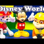 PAW PATROL Nickelodeon Paw Patrol And Mickey Mouse At Magic Kingdom a Paw Patrol Video Parody
