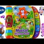 Musical Rhymes Book VTech Learn 40+ Songs Teaching Colors Nursery Rhymes! Toddler Toys