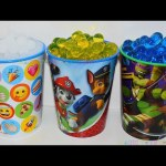 SURPISE CUPS Paw Patrol Teenage Mutant Ninja Turtles EMOJIS Surprise Cups Disney TOYS for Kids