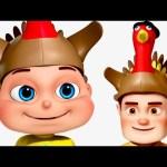 Five Little Babies Celebrating Thanksgiving   Thanksgiving Songs   Zool Babies Fun Songs