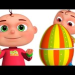 Five Little Babies Opening Surprise Eggs Mashup | Zool Babies Fun Videos