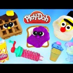 PLAY DOH Jumbo Episodes ★ Playdough Foods ★ Playdoh Sweet Shoppe Treats Lollipops Ice Cream Candy