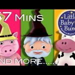 There Was A Crooked Man | Plus Lots More Nursery Rhymes | From LittleBabyBum!