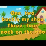 Karaoke Rhymes – One two buckle my shoe
