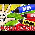 Finger Family Color Songs Collection | Learn Colours Surprise Eggs Nursery Rhymes Compilation
