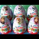 Kinder Egg Disney Frozen Princess Anna Elsa Kristoff Olaf Sven by funtoyscollector Disney toy review