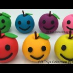 Play and Learn Colours with Playdough Apples with PJ Masks Molds Fun and Creative for Kids