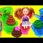 Japanese Toilet Candy Surprise Potty Play Doh Poop, Eggs & Blind Bags with Moko Moko Mokolet