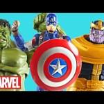 Marvel Buildafigures Avengers Age of Ultron Toys Hulk Thanos Captain America Legends Infinite Series
