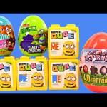 NEW Surprize Cubes Despicable Me Qube Spiderman Teenage Mutant Ninja Turtles Surprise Eggs DCTC Toys