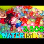 HUGE FAMILY WATER BALLOON FIGHT!!