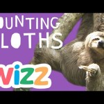 Counting Sloths For Kids