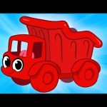 My Red Dump Truck Morphle – Animations For Kids