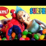 Spiderman Falls in Love with Elsa – Kinder Toys Surprises Princess Sofia the First Fashems Frozen