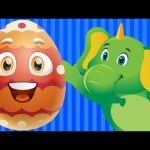Learn Blue Colour with Funny Egg Surprise & Blue Color Song   ChuChu TV Surprise Eggs Toys for Kids