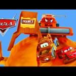 CARS Escape From Frank Track Set Disney Pixar Cars 2 Lightning Mcqueen Superhero Superman Mater