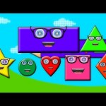 Shapes Song And Rhymes For Children