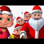 Five Little Babies Christmas Song | Jingle Bells | Nursery Rhymes For Children