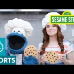 Sesame Street: Rosanna Pansino and Cookie Make a Snack!
