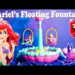 DISNEY PRINCESS Ariel Floating Fountain a Disney Princess Video Toy Review