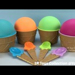 Ice Cream Play Dough Surprise Toys Mickey Mouse Peppa Pig Thomas & Friends Eggs Finding Dory Mashems