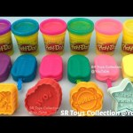 Glitter Play Doh Ice Cream Popsicles with Message Biscuits Molds Fun and Creative for Kids