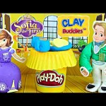 Sofia The First Clay Buddies Disney Princess Junior Play Doh Tea Party Activity Book