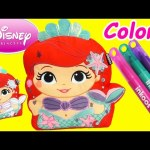 Disney Princess Ariel Little Mermaid Color and Create with Surprises