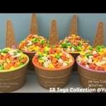 Candy Ice Cream Surprise Cups The Secret Life of Pets Monsters University Transformers Barbie Toys