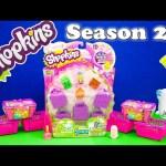 SHOPKINS SEASON 2 Shopkins Blind Bags TheEngineeringFamily Shopkins Surprise Egg Video