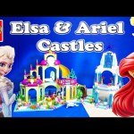 FROZEN Disney Elsa & Ariel Lego Castle and Palace Comparison Disney Princess Lego Video