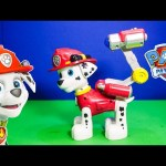 PAW PATROL Nickelodeon Paw Patrol Jumbo Marshall Toys Video Unboxing