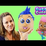 OPENING Giant Surprise Egg Bubble Guppies Play Doh Gil – Kinder Barbie Disney Princess Hello Kitty