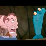 Disney – The Rescuers Down Under – Iguana and Eggs