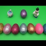 Kinder Surprise Egg Learn-A-Word! Spelling Holiday Words!  Lesson 16