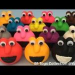 Play Doh Elmo Surprise Toys Masha and the Bear Anpanman Donald Duck Winnie the Pooh Paw Patrol Peppa