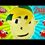 HUGE Nintendo Zelda Egg Surprise Play Doh Lego Mini Figures MLP Minecraft Sorpresa Huevos