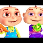 Five Little Babies Playing With Dough – Vegetables 🍆  | Learn Vegetables For Kids | Zool Babies