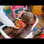 Playtime for kids at indoor playground. Sliders, bugs, teddy bear,. Video from KIDS TOYS CHANNEL