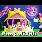 MINNIE MOUSE Disney Minnie Mouse Jumping Stable a Minnie Mouse Video Toy Reivew